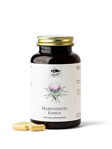 KRÄUTERHANDEL SANKT ANTON® - Mariendistel Kapseln - 500 mg...