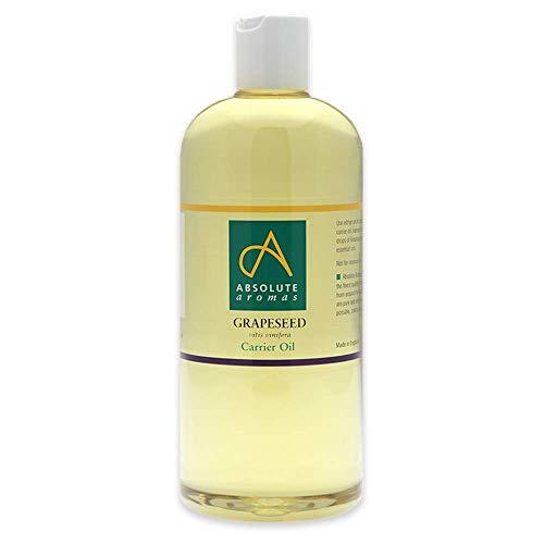 Absolute Aromas Traubenkernöl 500ml - Rein, Natürlich, Kaltgepresst,...