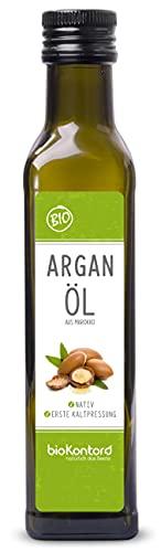 Arganöl BIO 250ml I nativ und kaltgepresst I 100% rein I beste...
