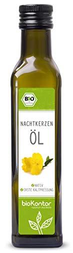 Bio Nachtkerzenöl - nativ, kaltgepresst, 100% rein von bioKontor -...