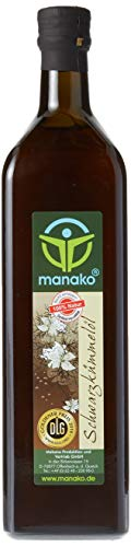 manako Schwarzkümmelöl human, kaltgepresst, 100% rein, 1000 ml...