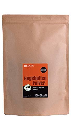 Wohltuer Bio Hagebuttenpulver (1000 g) | Regelmäßige...