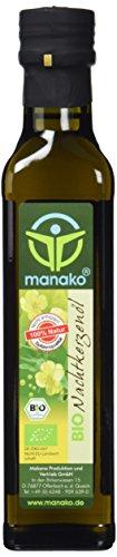 manako BIO - Nachtkerzenöl, nativ gepresst, 100% rein, 250 ml...