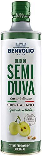 BENVOLIO 1938 Traubenkernöl Kaltgepresst 100% ITALIENISCHE - 750 ml -...