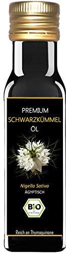 Premium BIO Schwarzkümmelöl - 1. Pressung - 100% kaltgepresst - 100%...