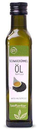 bioKontor // BIO Schwarzkümmelöl ägyptisch - nativ, kaltgepresst,...