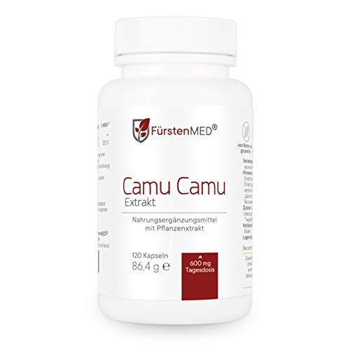FürstenMED® Vitamin C Hochdosiert - Natürliche Camu-Camu Kapseln -...