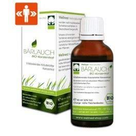 Wellnest Bärlauch Bio Extrakt 50 ml | Detox Konzentrat hochdosiert |...