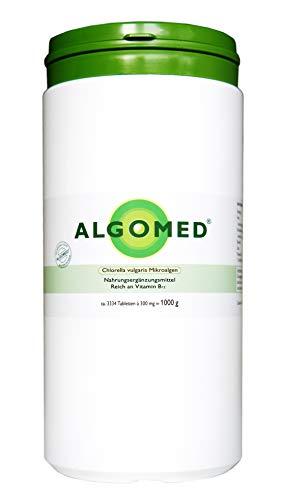 Algomed® - Chlorella vulgaris Mikroalgen - 1000 g / ca. 3334...
