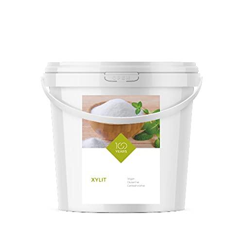 100years - Xylit 5000g (5 kg) - kalorienreduzierter Zuckerersatz aus...