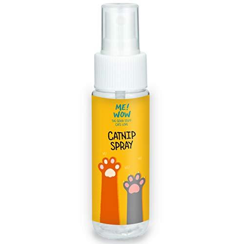 MEWOW Katzenminze-Spray für Katzenspielzeug. Animiert zum Spielen,...