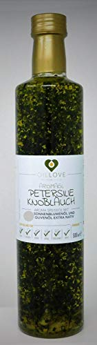 Aroma Speiseöl mit Petersilie Knoblauch Olivenöl Sonnenblumenöl...