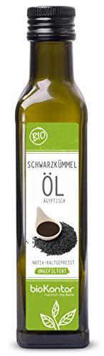 Schwarzkümmelöl ägyptisch 250 ml BIO UNGEFILTERT I nativ und...