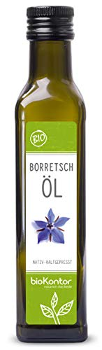Borretschöl BIO kaltgepresst 250ml I nativ - 100% rein I...