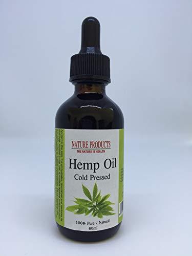 Hanföl (Cannabis Sativa) - Kaltgepresst - 100% Reines & Natürlich -...