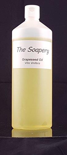 Traubenkernöl 1 Liter – kosmetische Qualität – auch Trägeröl...
