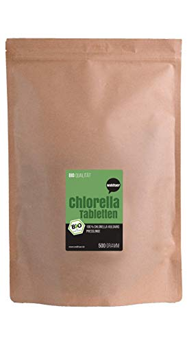 Wohltuer Bio Chlorella 500g, Rohkostqualität (DE-ÖKO-006)