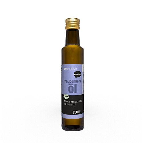 Wohltuer Traubenkernöl kaltgepresst 250ml aus kontrolliert...