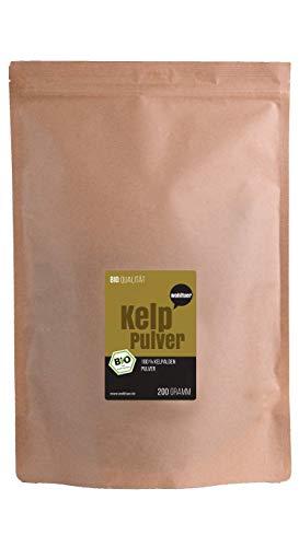 Wohltuer Bio Kelp Pulver | Kelp Algenpulver | Natürliche Jodquelle |...