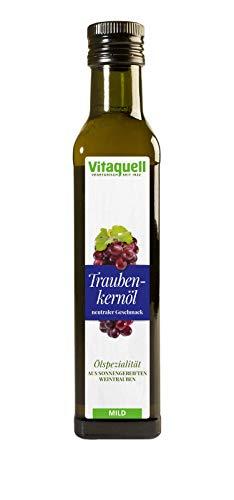 Vitaquell Traubenkern-Öl, 250 ml aus sonnengereiften Weintrauben