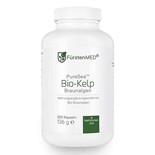 FürstenMED® Bio Kelp - Natürliches Jod aus Bio Braunalgen - 250...