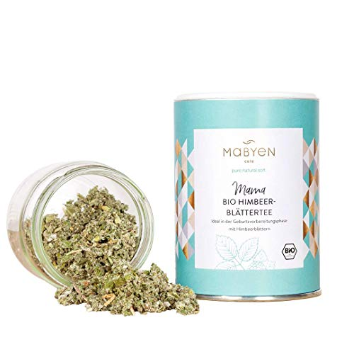 Mabyen Bio Himbeerblättertee - Geburtsvorbereitungstee Tee...
