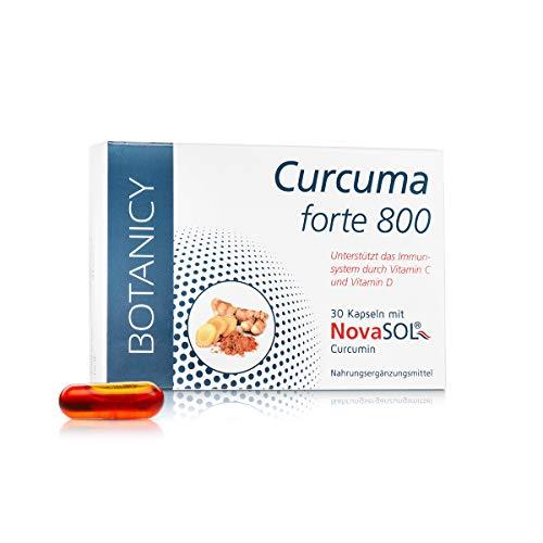 CURCUMA FORTE 800 mit flüssigem Mizell-Curcumin ohne Piperin,...