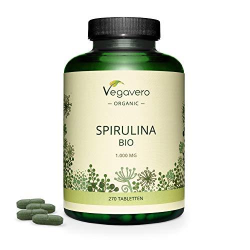 SPIRULINA BIO Vegavero ® | 1000 mg pro Tablette: HÖCHSTER SPIRULINA...