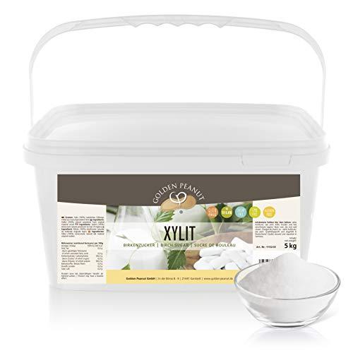 Xylitol 5 kg – Xylit | Birkenzucker | Zucker-Ersatz | natürliches...
