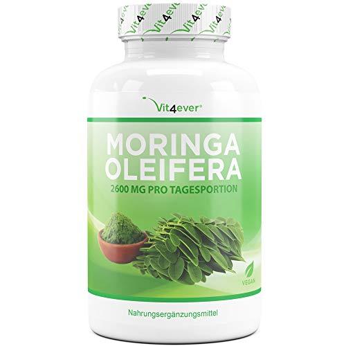 Vit4ever® Moringa - 240 Kapseln mit 650 mg - Laborgeprüft - 2...