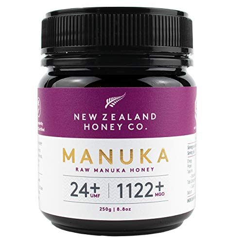 New Zealand Honey Co. Manuka Honig MGO 1122+ / UMF 24+   Aktiv und Roh...