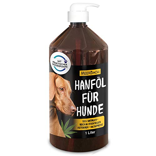 MeerBach Animal 1 Liter Hanföl für Tiere • Hanföl für Hunde,...