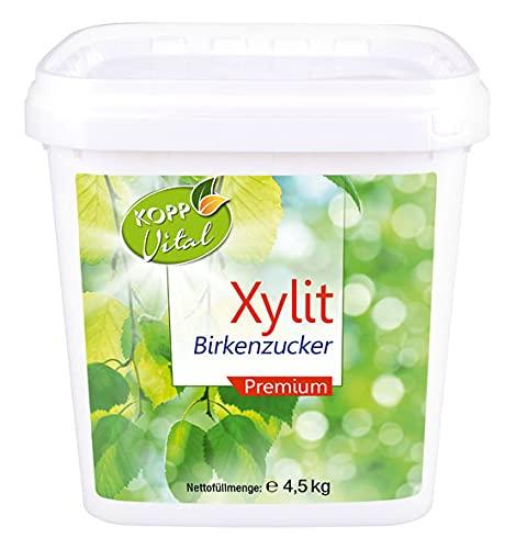 4,5kg Kopp Vital Xylit Birkenzucker Premium | aus Finnland | Vegan |...