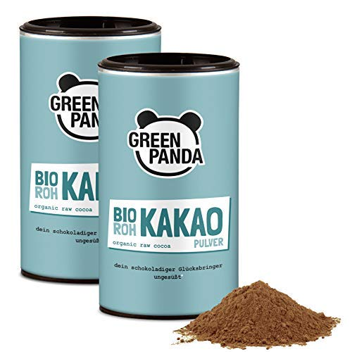 Bio Rohkakao aus Premium Kakaobohnen gemahlen, Kakaopulver ohne Zucker...