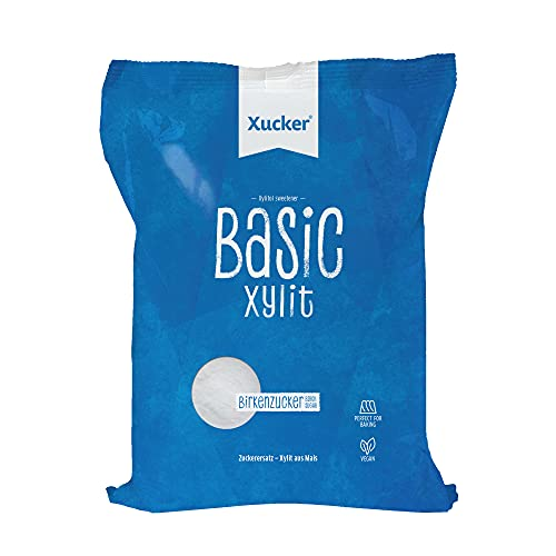 Xucker Basic aus Xylit Birkenzucker - 1kg Nachfüllbeutel -...