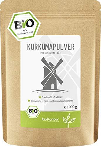 BIO Kurkuma Pulver gemahlen 1000g / 1 kg | Kurkumapulver - Curcuma -...