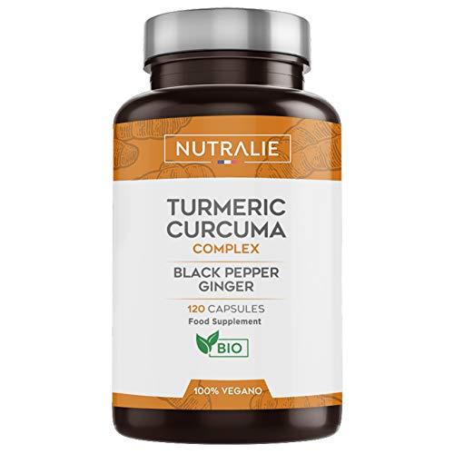 Kurkuma Bio 100% Natürliche | Optimale Kombination aus Kurkuma und...