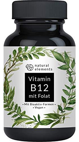 Vitamin B12 - Vergleichssieger 2019* - 180 Tabletten - Premium: Beide...