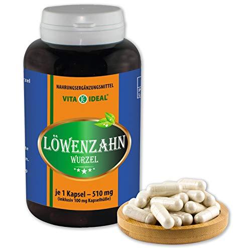VITA IDEAL ® Löwenzahn-Wurzel (Traxacum officialae) 180 Kapseln je...