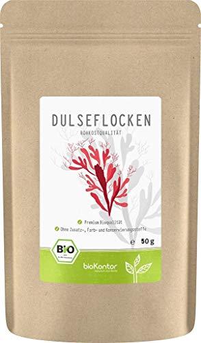 BIO Dulseflocken | Dulse - Algen - Lappentang | 100% naturrein -...