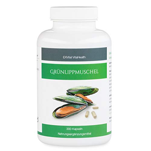 Grünlippmuschel 300 Kapseln- hoch konzentriert, EXVital VitaHealth,...