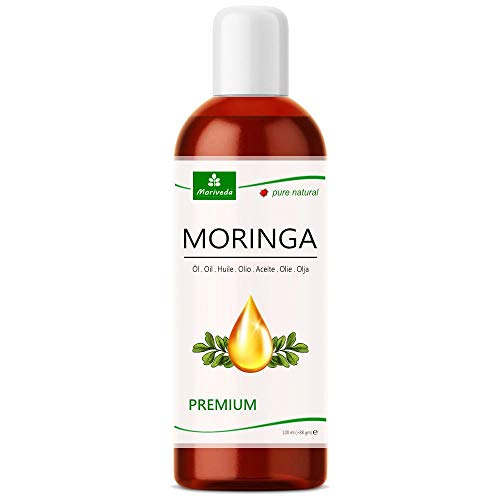 MoriVeda® - Moringa Öl Premium 100ml, kalt gepresst aus...