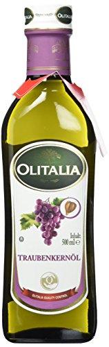 Olitalia Traubenkern Öl, raffiniert Flasche, 1er Pack (1 x 500 ml)