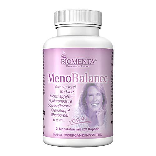 BIOMENTA Meno Balance - Yamswurzel, Rotklee, Frauenmantel,...