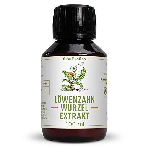 Löwenzahnwurzel-Extrakt flüssig | 100% naturrein und natürlich |...