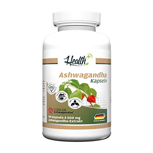 Health+ Ashwagandha Kapseln, 450 g