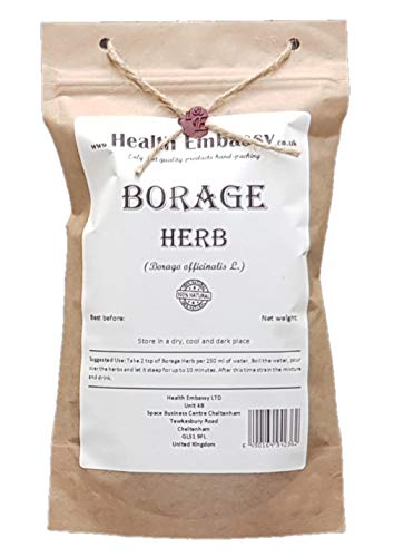Health Embassy Borretsch Kraut Tee (Borago officinalis L) / Borage...