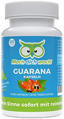 Guarana Kapseln ohne Zusatzstoffe - Qualität aus Deutschland -...