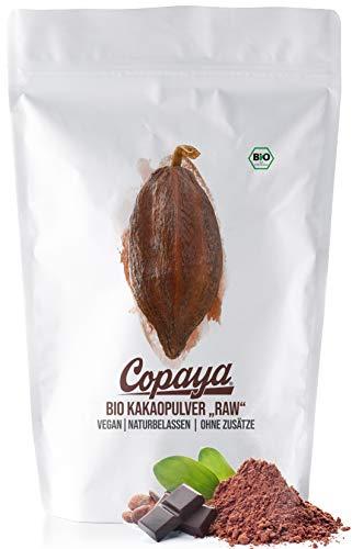 Copaya Kakaopulver BIO 1Kg, Rohes Kakao Pulver aus biologischem Anbau,...