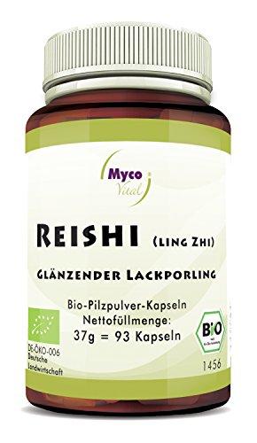 Reishi Kapseln von Mycovital | Superfood zum Immunsystem stärken | 93...